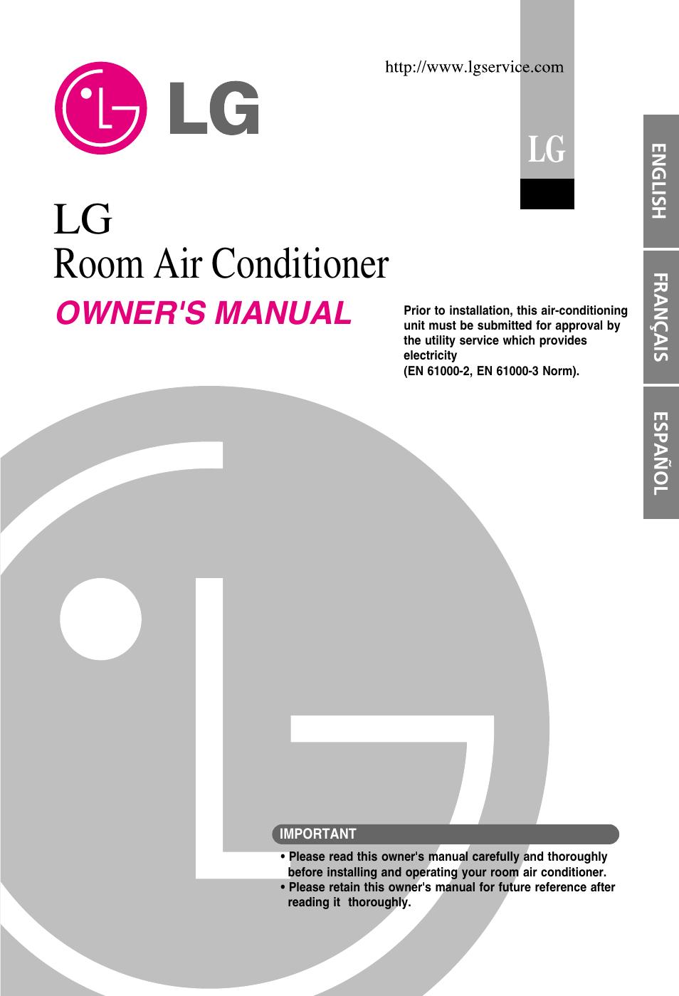 lg en 61000 2 user manual 29 pages rh manualsdir com