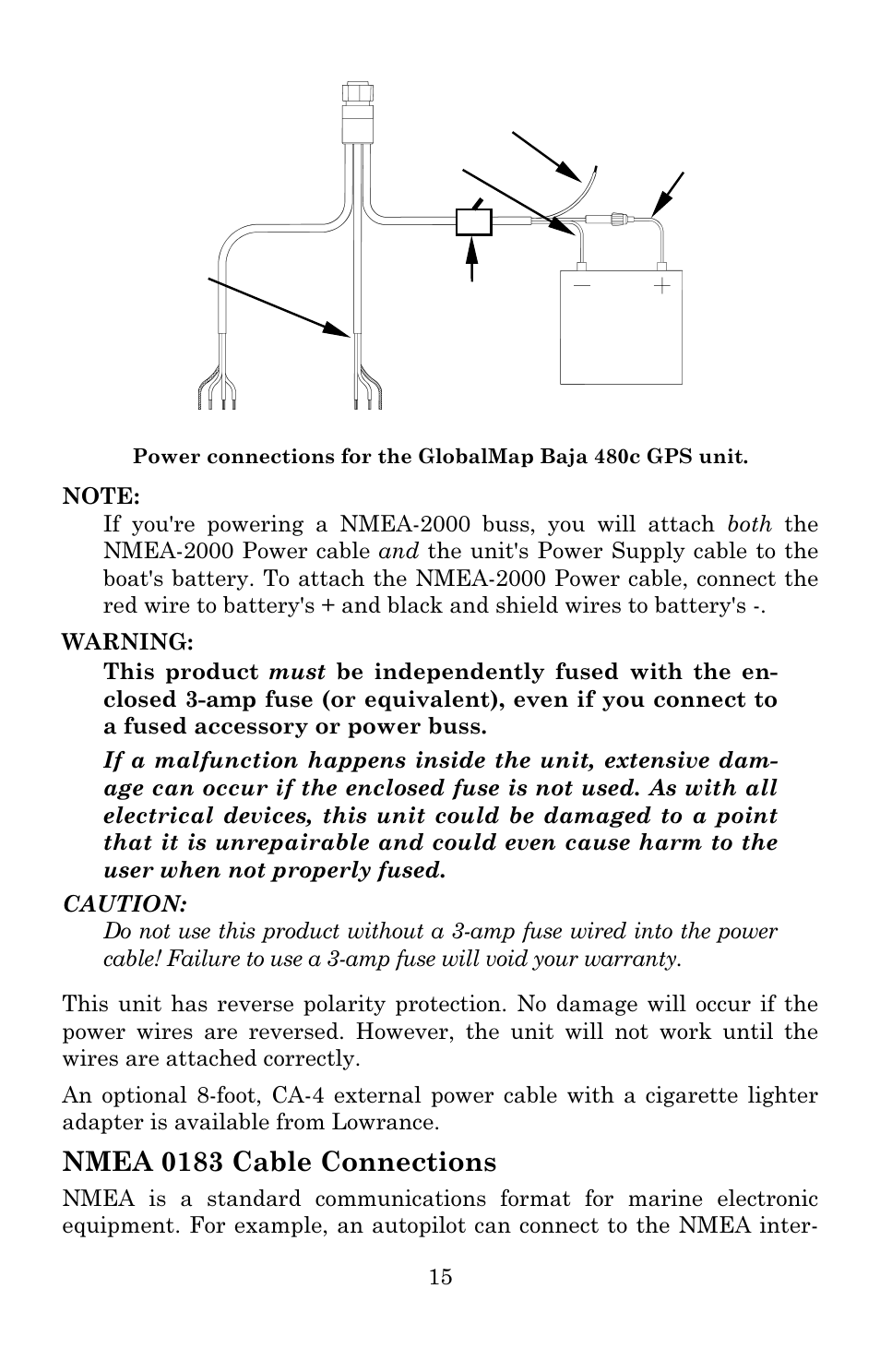 Lowrance Nmea 0183 Wiring Trusted Schematics Diagram Gps Cable Connections Electronic Globalmap