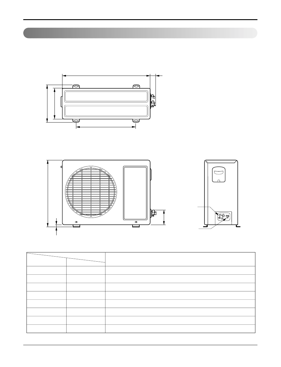 Outdoor Unit 9k 12k Lg Lsu120he User Manual Page 11 83