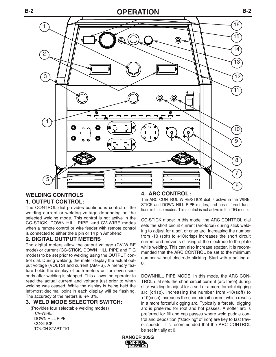 lincoln 305g wiring diagram operation lincoln electric ranger 305g user manual page 19 49  lincoln electric ranger 305g