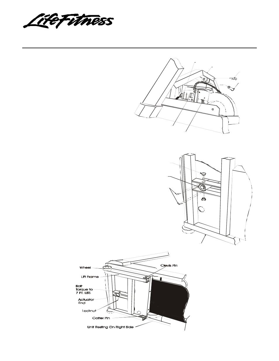 life fitness 5500hr treadmill manual