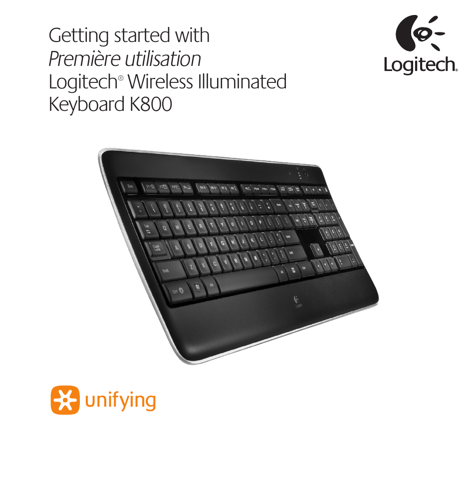 Logitech K800 Wireless Keyboard Manual Trusted Wiring Diagram Light User 32 Pages Cordless