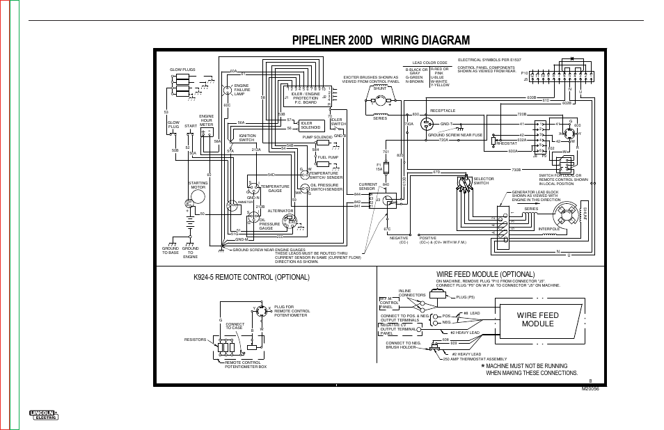 lincoln welder remote rheostat wiring diagram