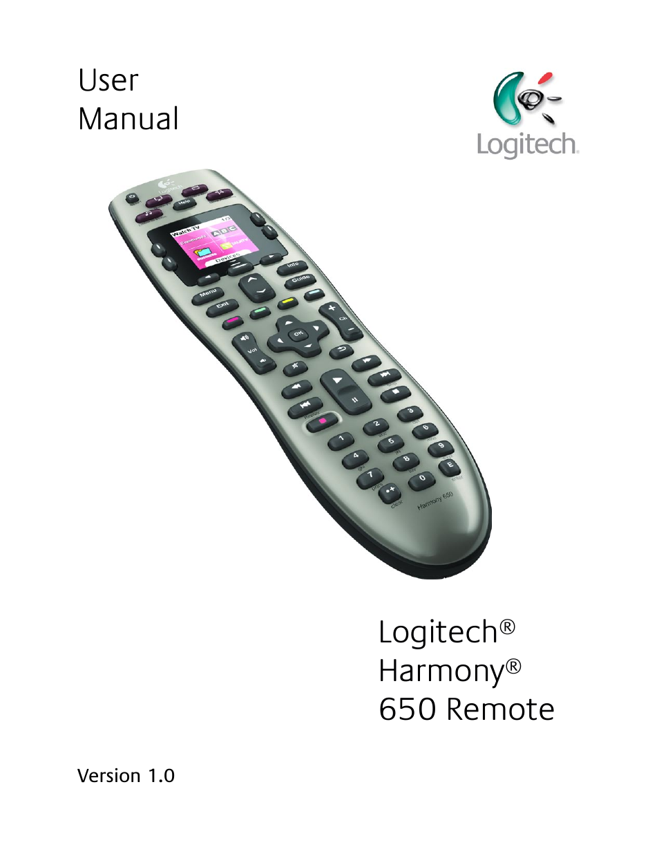 logitech harmony 650 user manual 26 pages also for harmony sd rh manualsdir com logitech harmony one user manual download logitech harmony one user manual download