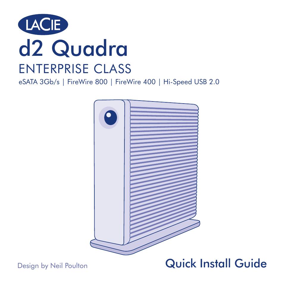lacie d2 quadra user manual 24 pages rh manualsdir com lacie d2 quadra 1tb manual lacie d2 quadra 1tb manual