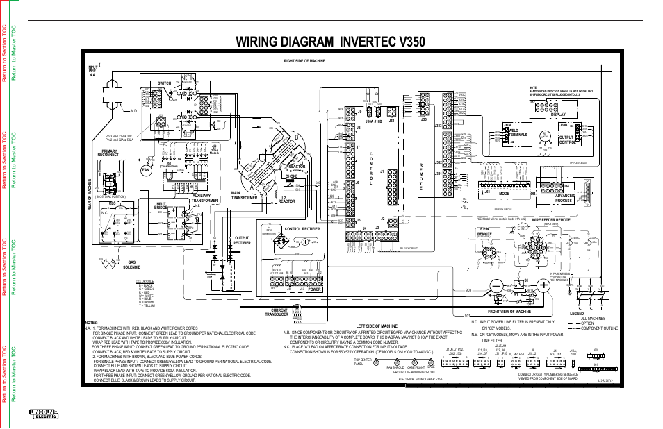 wiring diagram invertec v350, electrical diagrams, g4082 | lincoln electric  invertec svm158-a user manual | page 148 / 167