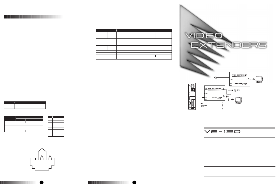 lindy video extenders ve 120 user manual 2 pages rh manualsdir com Online User Guide Quick Reference Guide