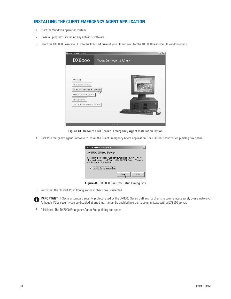 Pelco dx8000 series client application software_op_pgm_manual.