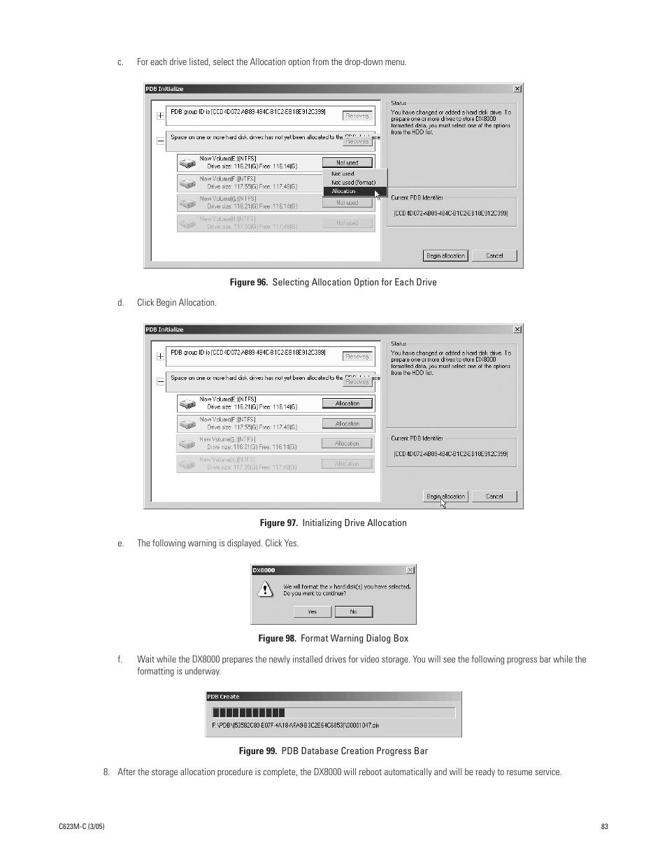 Dvr pelco dx8000 dx8up-512mbram user's manuals in pdf.