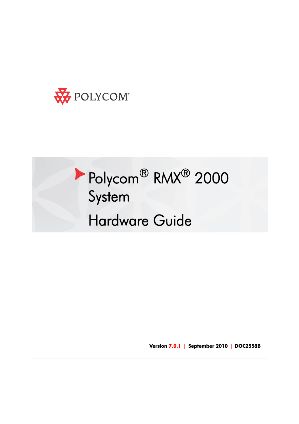 polycom doc2558b user manual 45 pages rh manualsdir com polycom rmx 2000 hardware guide polycom rmx 2000 hardware guide