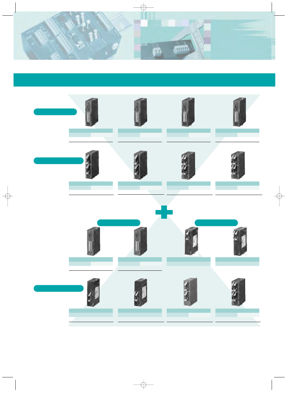 Fp0 control and expansion units, Products and order numbers ...