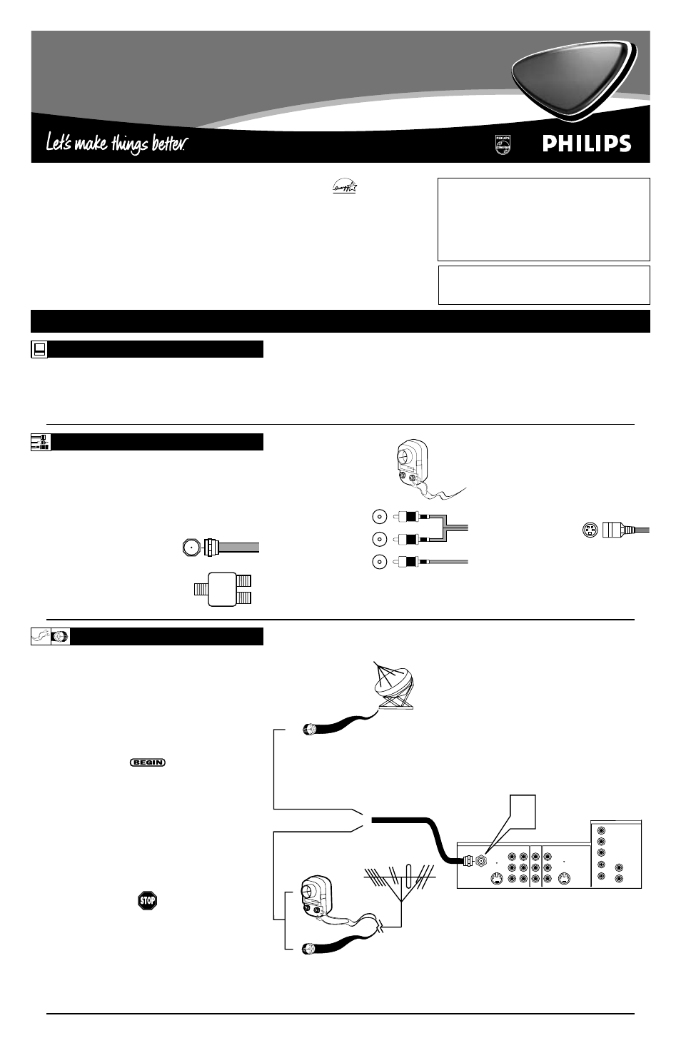 Philips 50PP 9202 User Manual | 8 pages | Also for: 60PP9202