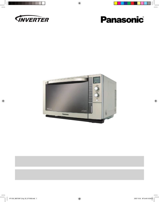 panasonic nn cs597s user manual 44 pages rh manualsdir com panasonic genius inverter microwave oven manual panasonic inverter microwave oven manual