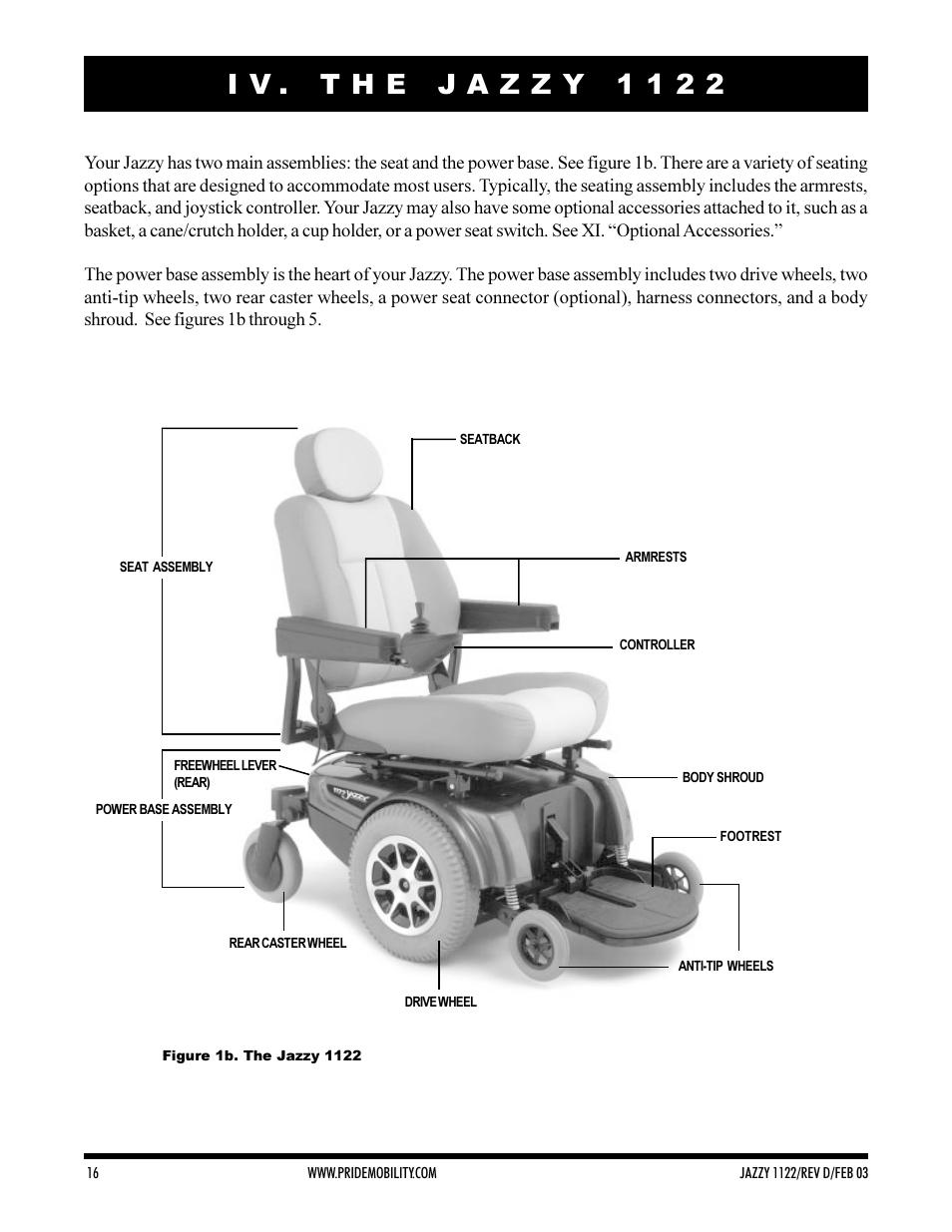 Pride Mobility Jazzy 1122 User Manual | Page 16 / 56 on pride mobility wiring diagram, mobility chair wiring diagram, wheelchair wiring diagram, pride scooter wiring diagram, pride lift chairs wiring diagram, mobility scooter wiring diagram, power scooter wiring diagram, shoprider power chair wiring diagram, go go scooter wiring diagram, invacare wiring diagram,