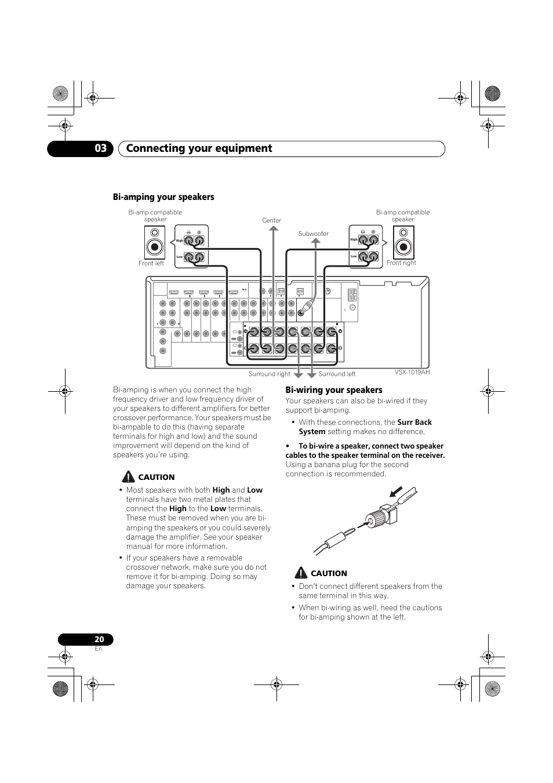 Funky Bi Wire Vs Bi Amp Ensign - Electrical Circuit Diagram Ideas ...