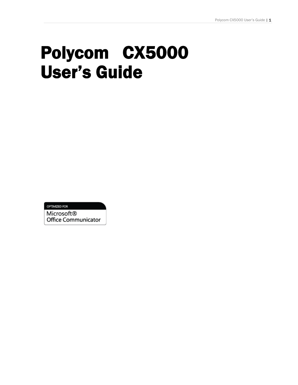 polycom cx5000 user manual 25 pages rh manualsdir com Round Table Polycom CX5000 polycom cx5000 user guide