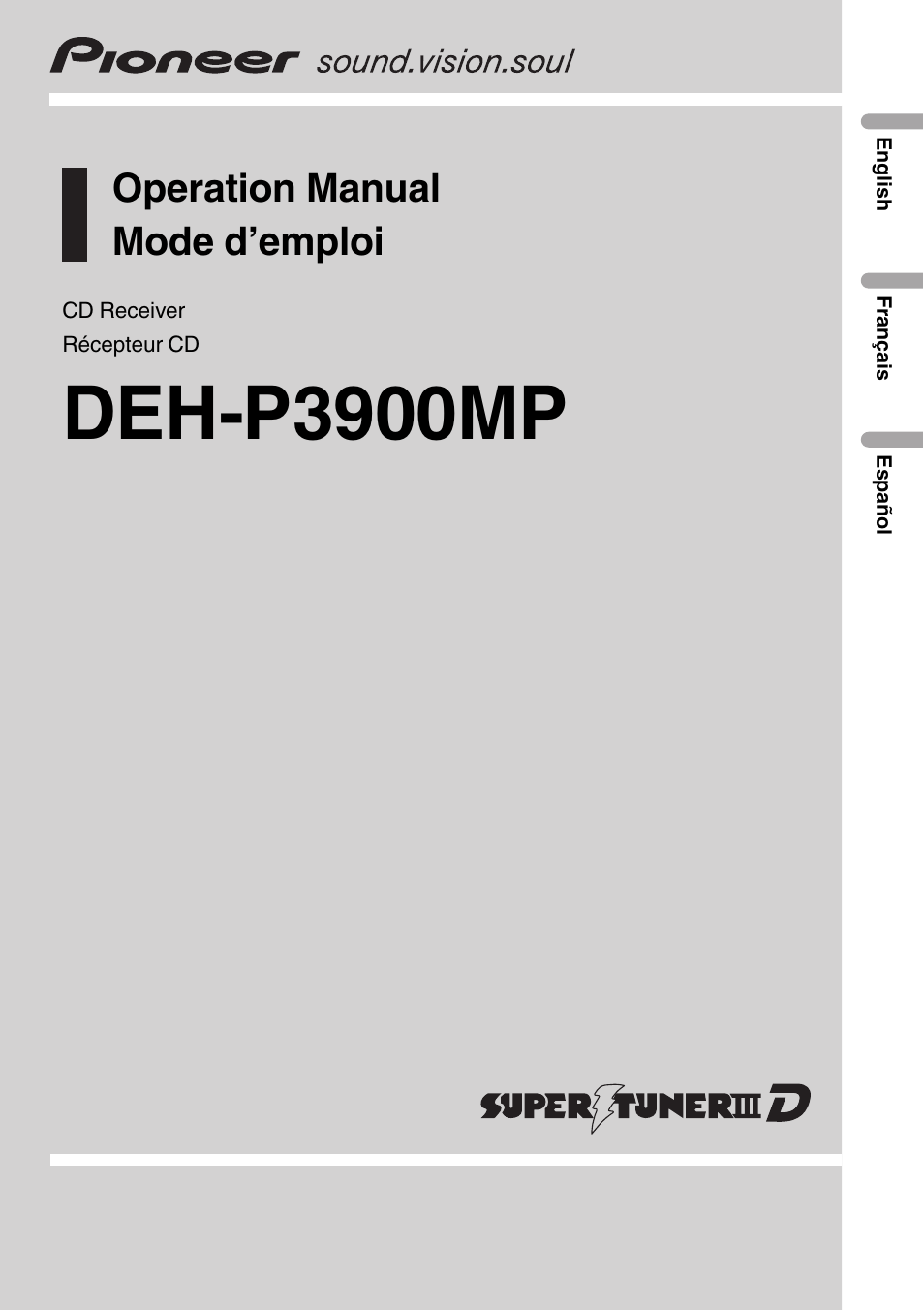 Awesome Pioneer Deh P3900mp Wiring Diagram Inspiration - Electrical ...