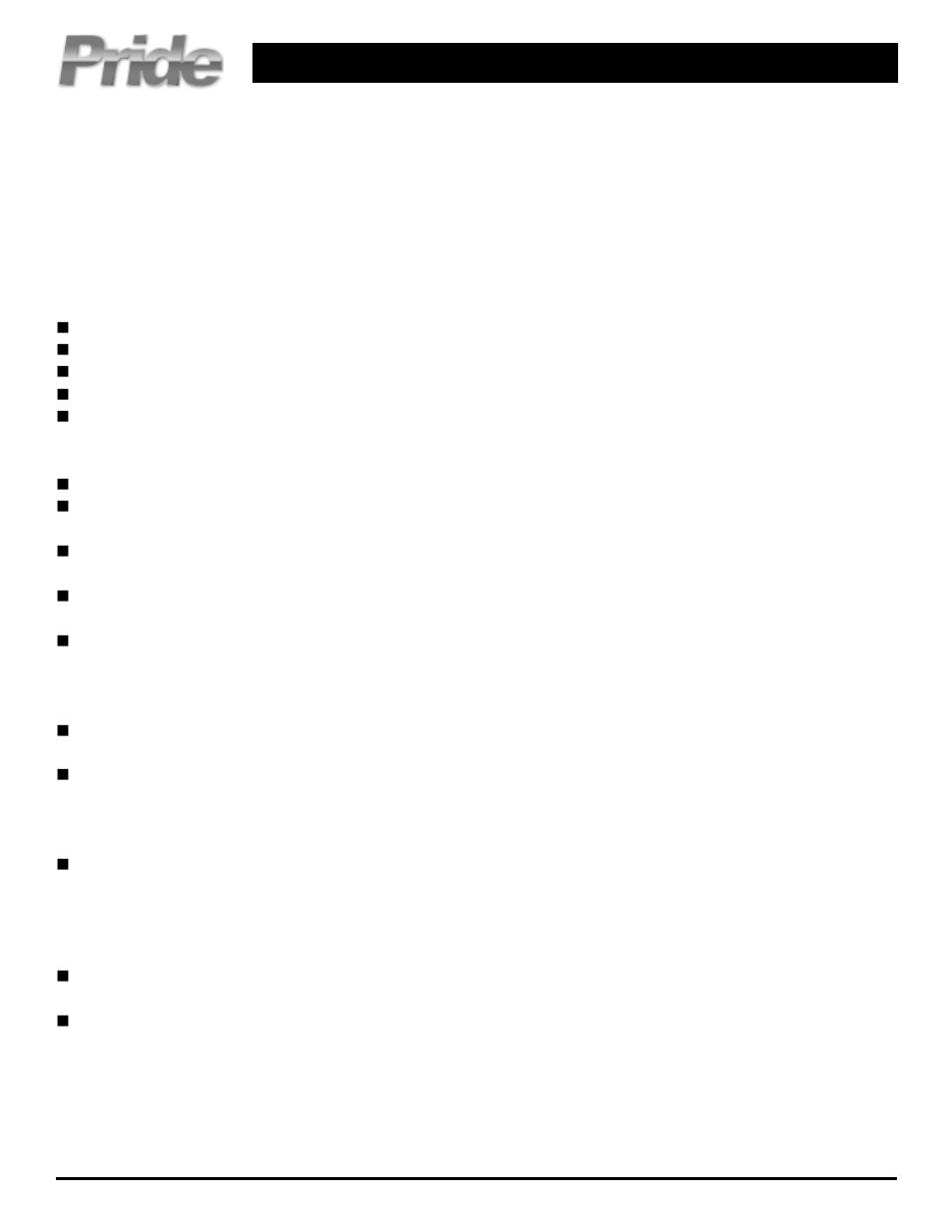 Pride Mobility Jet 3 Ultra User Manual