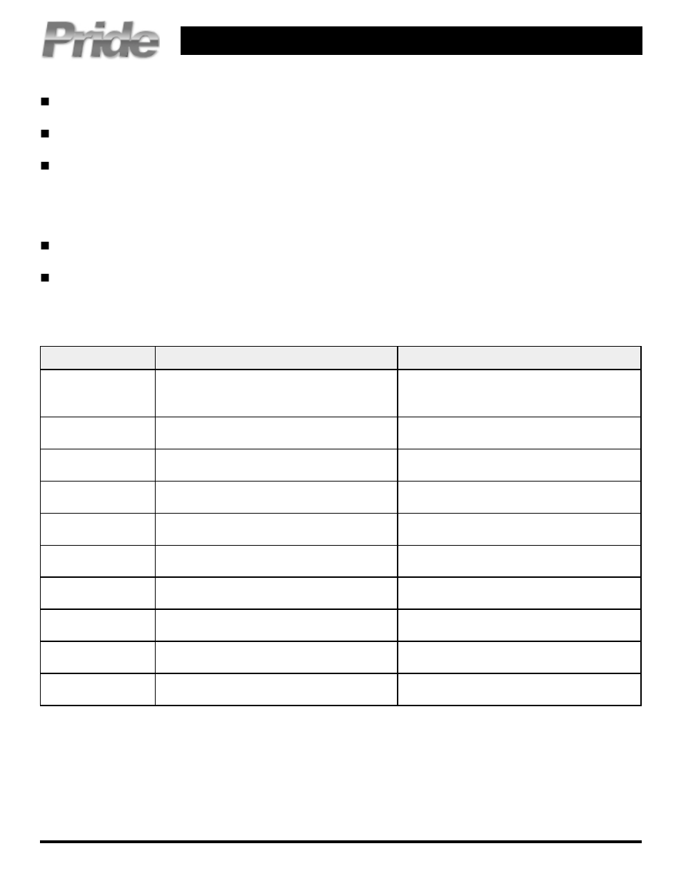 Pride Mobility Jet 3 Ultra User Manual Page 2 4