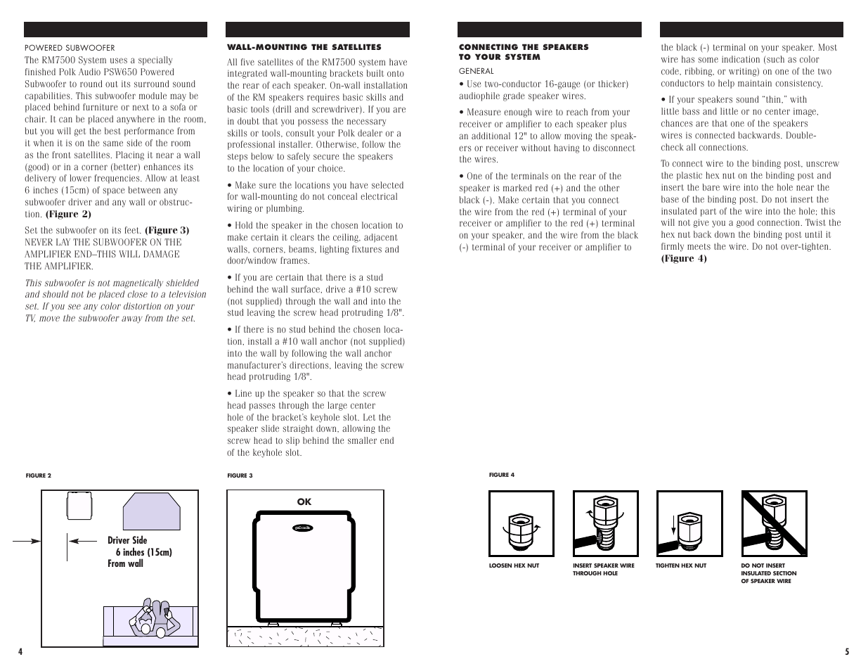 polk audio rm7500 user manual page 4 10 also for rmseries rm7500 rh manualsdir com