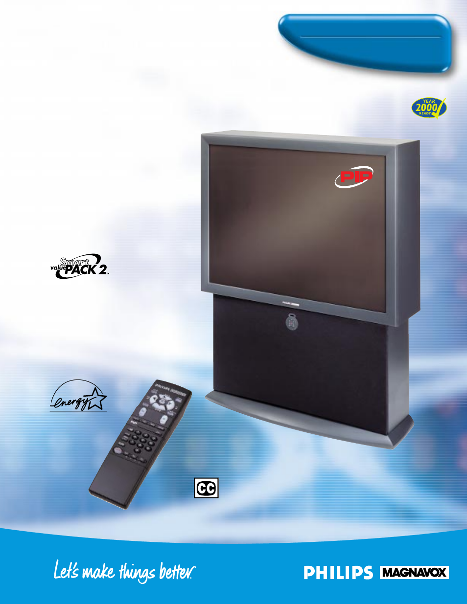 philips magnavox 9p5531c user manual 2 pages also for projection tv rh manualsdir com Magnavox PIP Magnavox 60 Inch TV