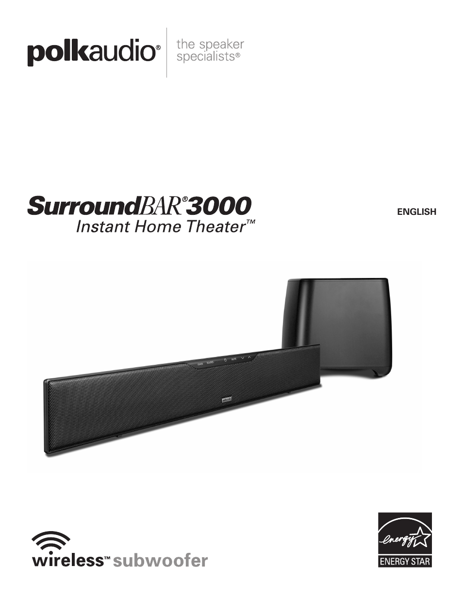 polk audio surroundbar 3000 user manual 12 pages rh manualsdir com polk audio surroundbar manual polk audio iht digital one step soundbar manual
