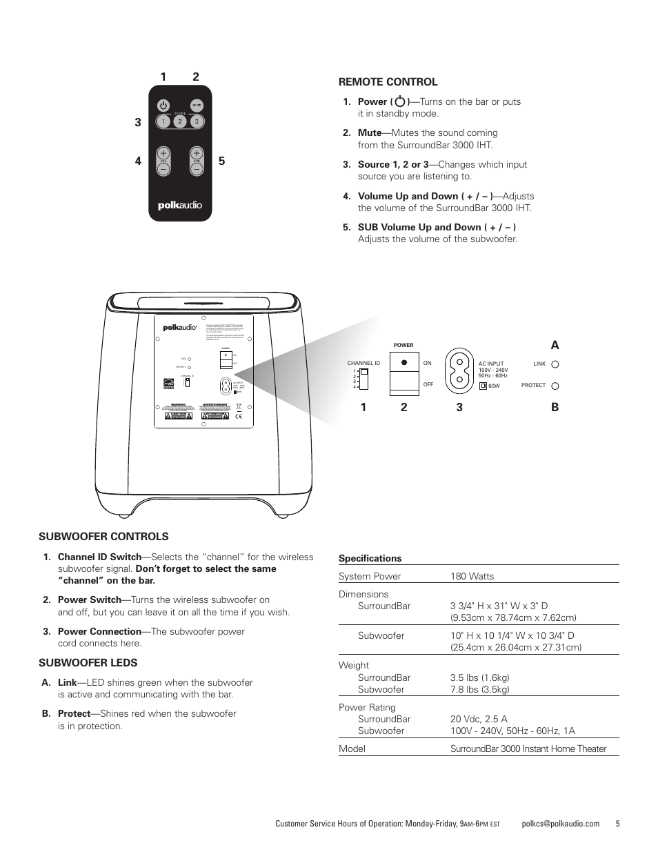 Bose Soundbar Manual Manual Guide