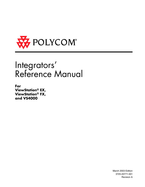 polycom viewstation ex4000 user manual 150 pages rh manualsdir com polycom viewstation 512 manual polycom viewstation pvs-1419 manual