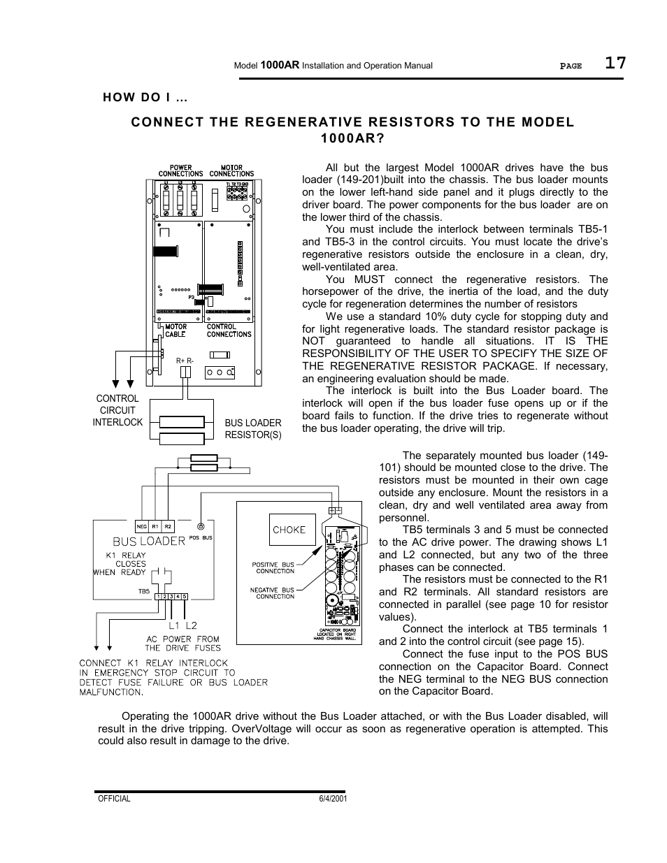 Bldc Motor Controller Manual Enthusiast Wiring Diagrams Dc Control Using Relay How Do I Powertec Regenerative Brushless 1000ar Rh Manualsdir Com