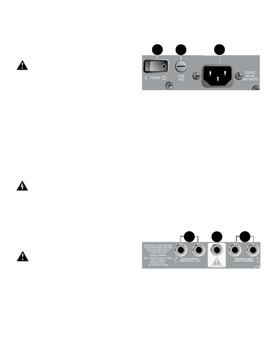 Peavey Xr 800f User Manual Page 4 48 Wiring A 1 Out Put Jack