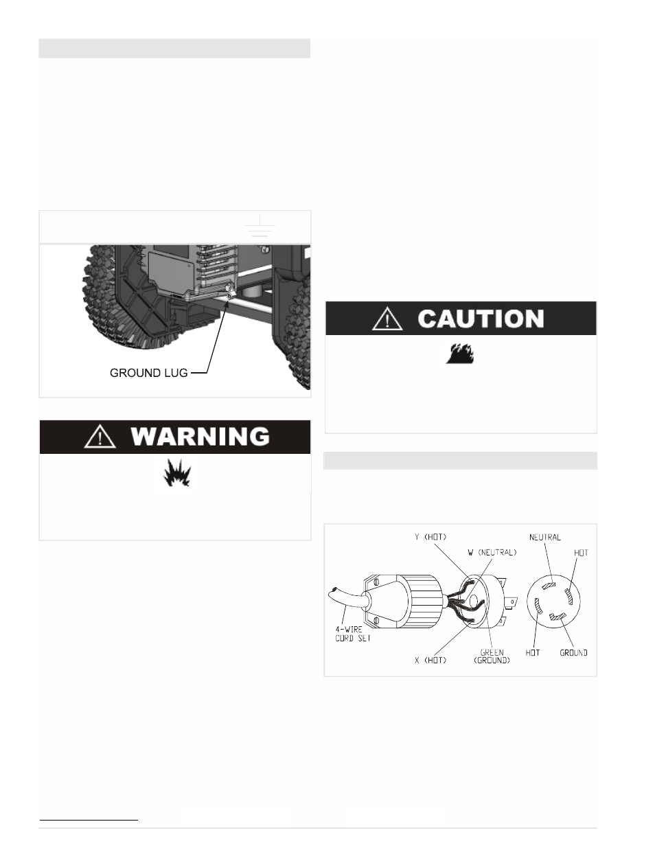 Before Operation Powermate Pm0645500 User Manual Page 8 36 Wiring Neutral Hot Ground