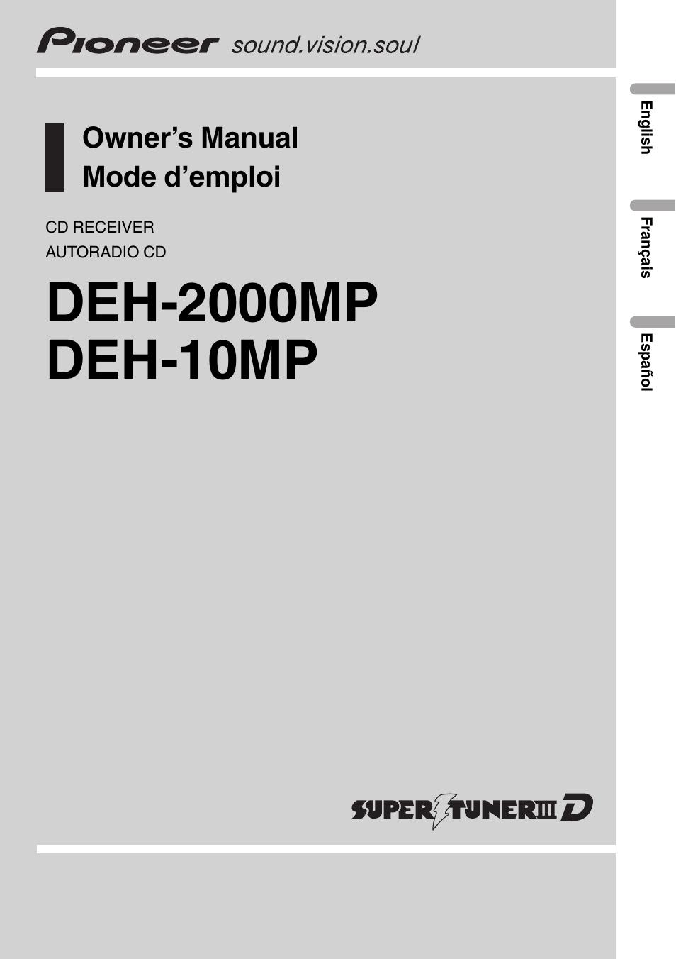 27 Pioneer Deh 2000mp Wiring Diagram