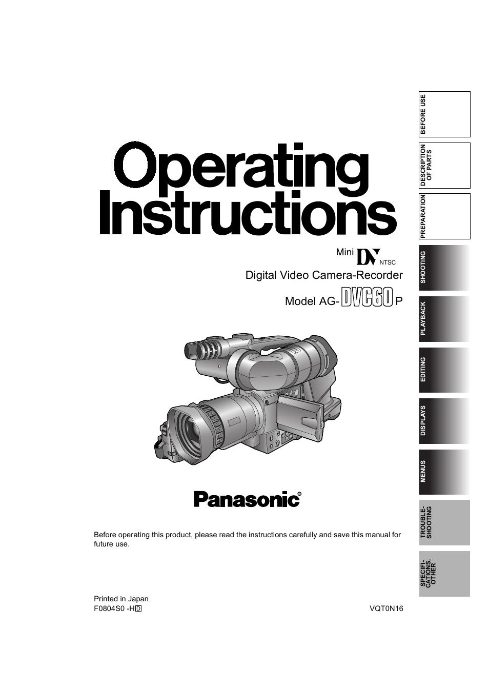 Panasonic Ag