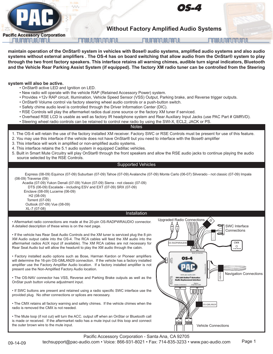 pac os 4 page1 pac os 4 user manual 4 pages pac os-1 wiring diagram at nearapp.co