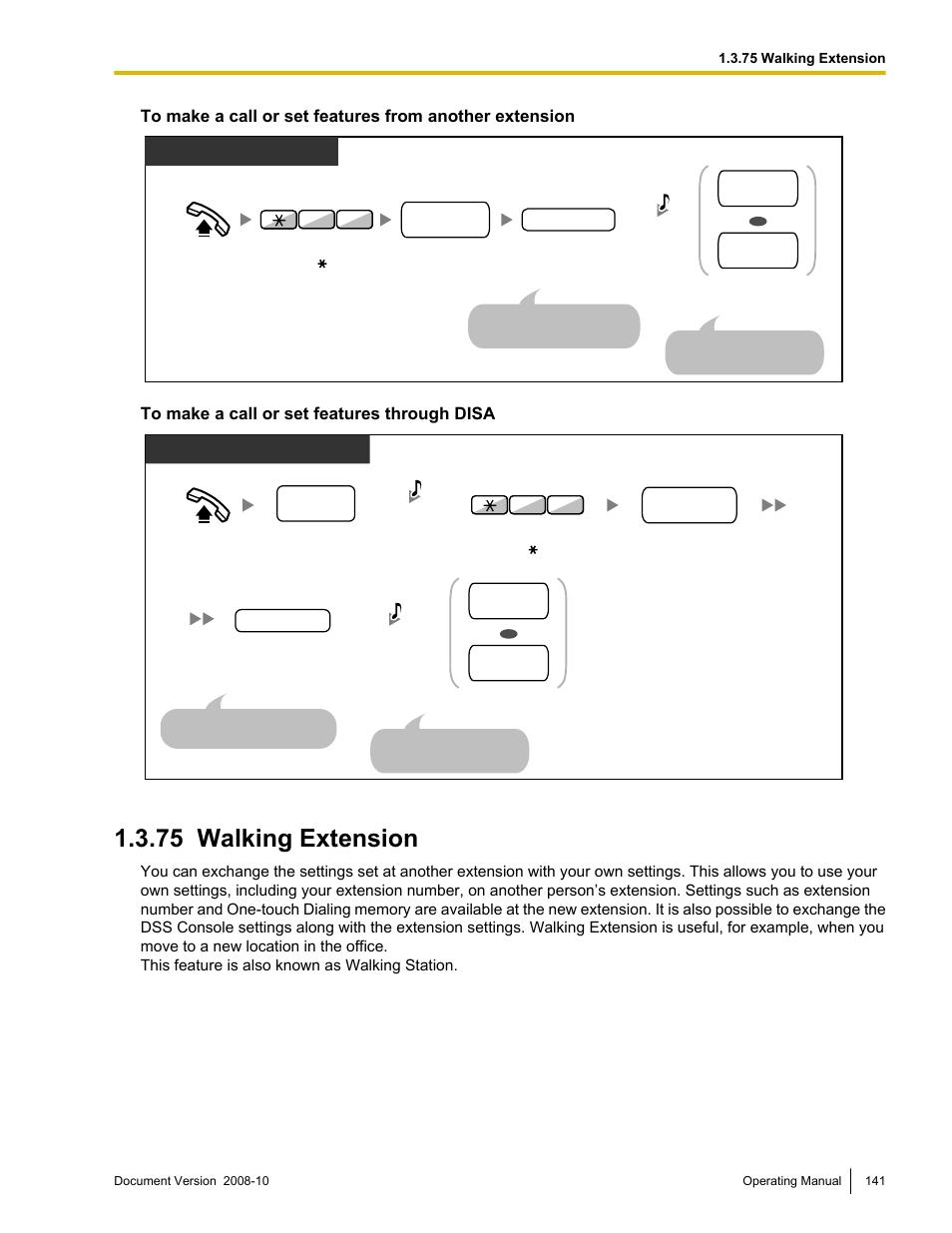 75 walking extension walking extension panasonic kx tde200 user rh manualsdir com panasonic tde200 programming manual panasonic kx-tde200 installation manual