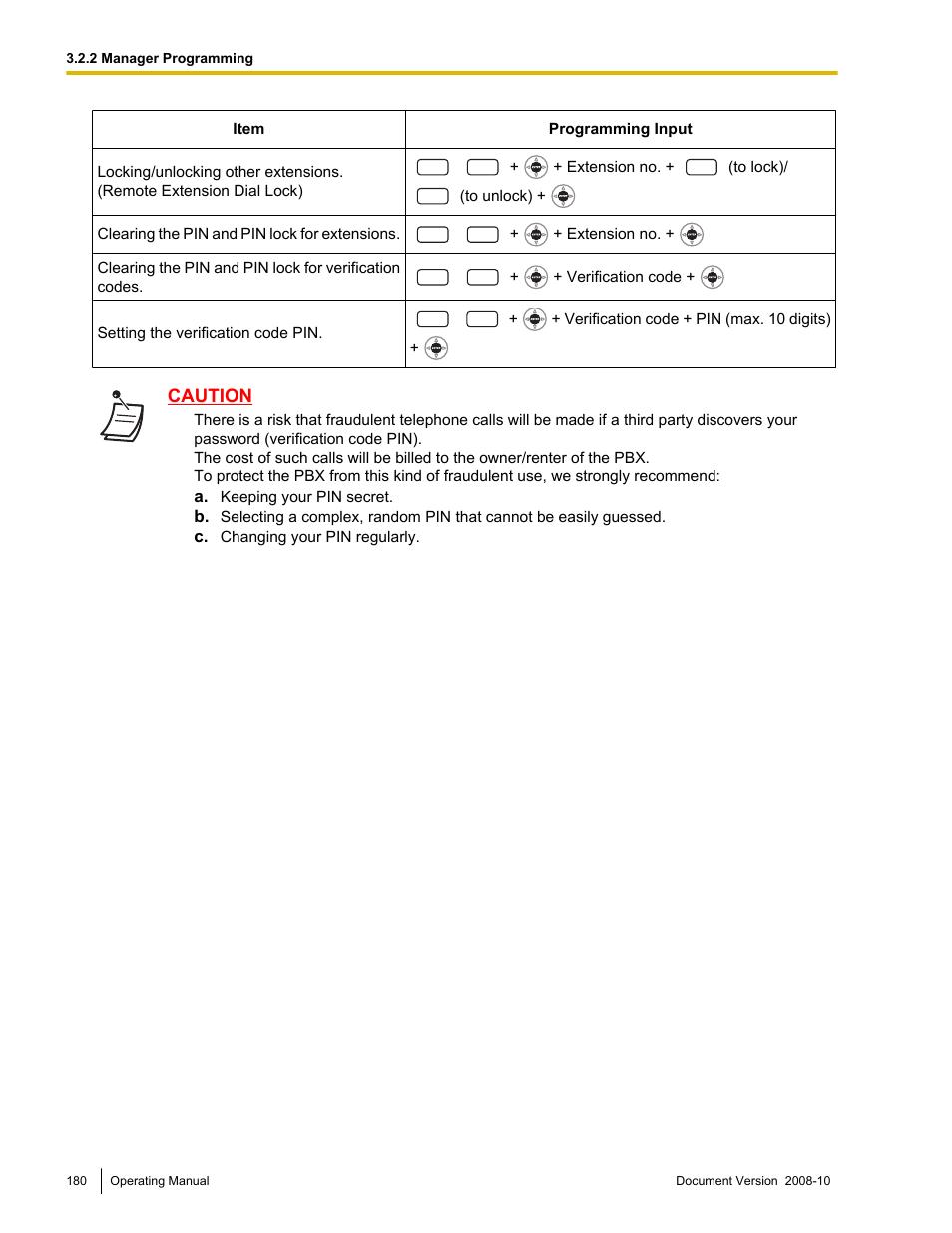 Panasonic KX-TDE200 User Manual | Page 180 / 210 | Also for