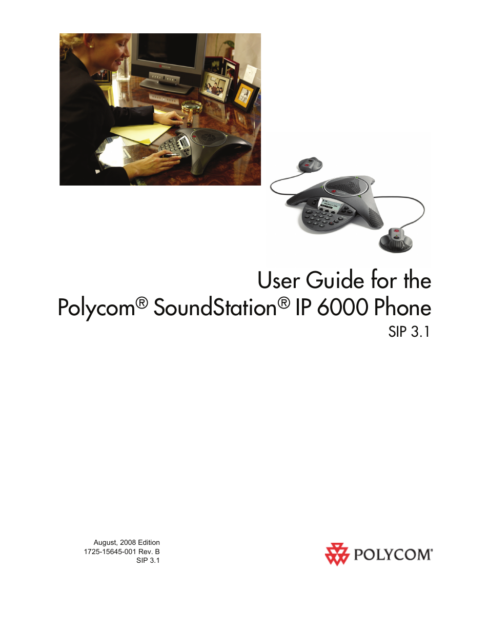 polycom soundstation ip 6000 user manual 86 pages rh manualsdir com polycom soundstation ip 6000 configuration guide polycom soundstation ip 6000 guide
