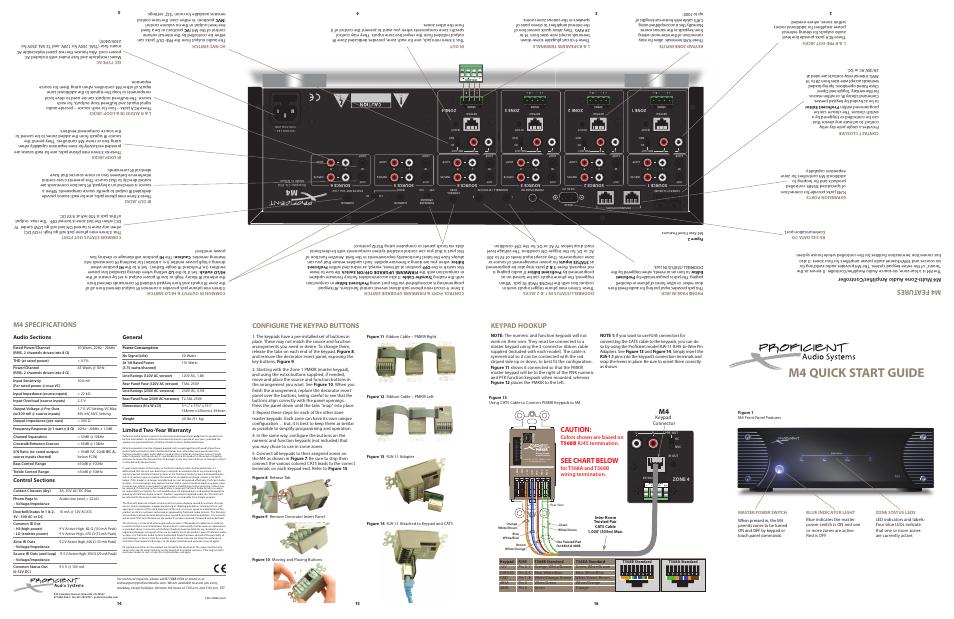 proficient audio systems m4 user manual 5 pages rh manualsdir com Automotive Wiring Diagrams Car Audio Capacitor Wiring Diagram