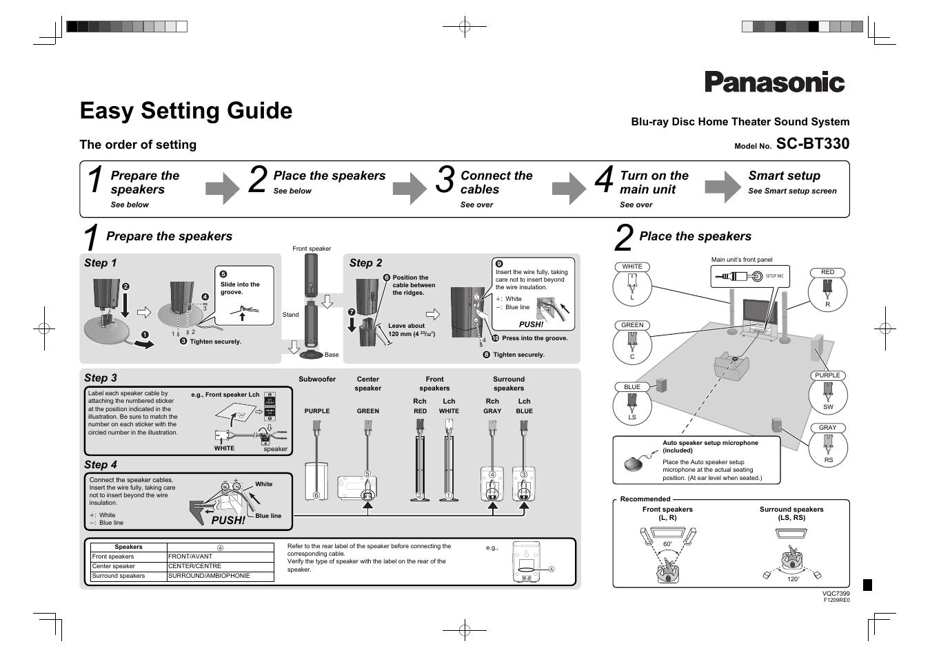 Panasonic sa ht520 схема