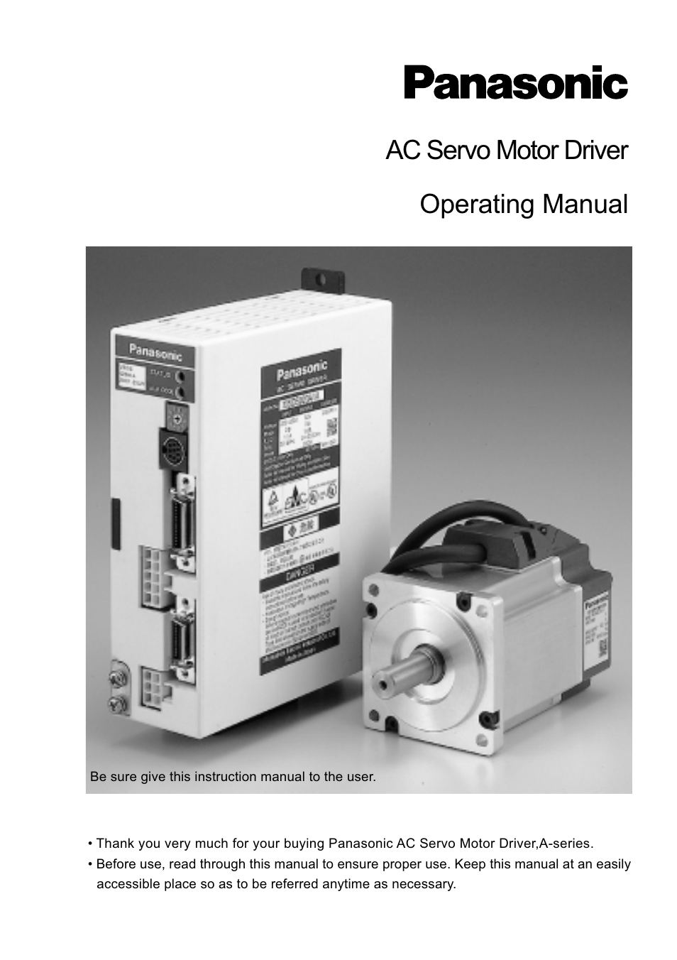 Panasonic MDDDT5540 User Manual | 133 pages | Also for