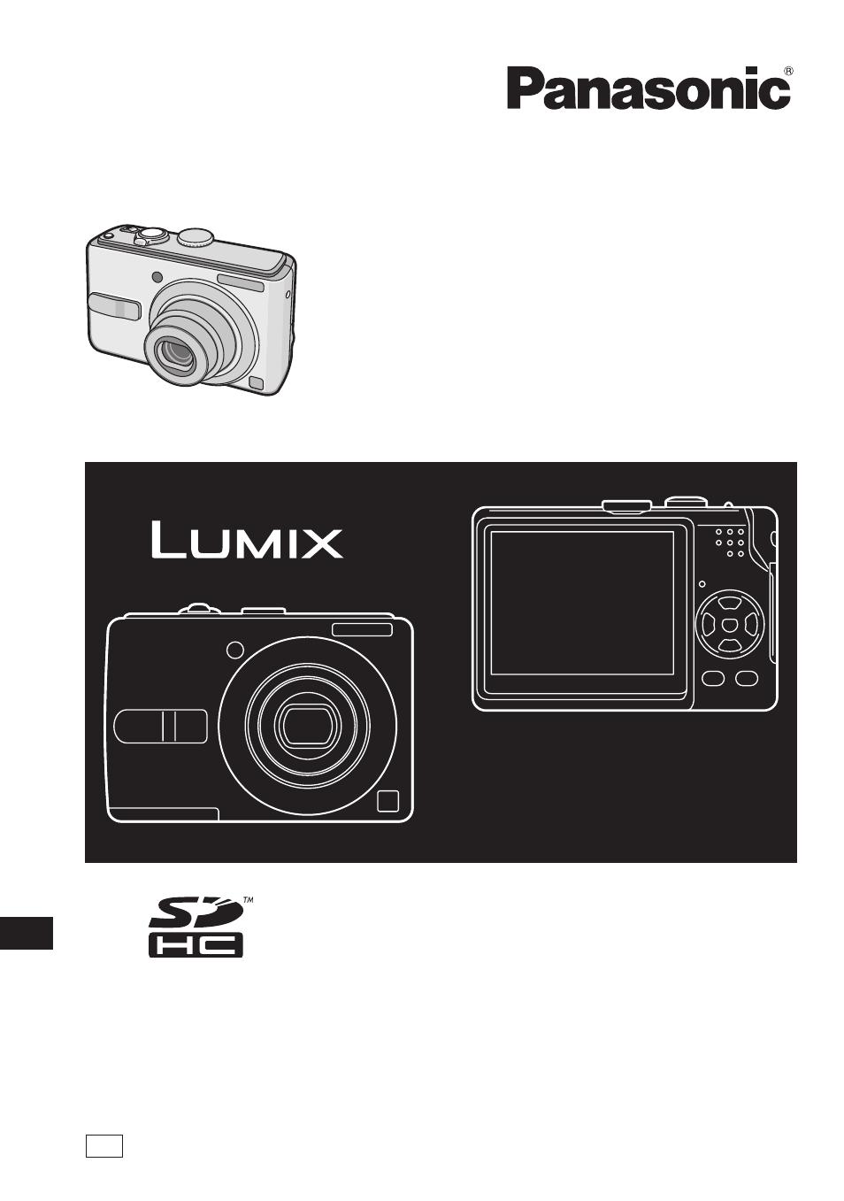 Panasonic DMC-LS75 User Manual | 112 pages | Also for: DMC-LS70, DMC-LS60