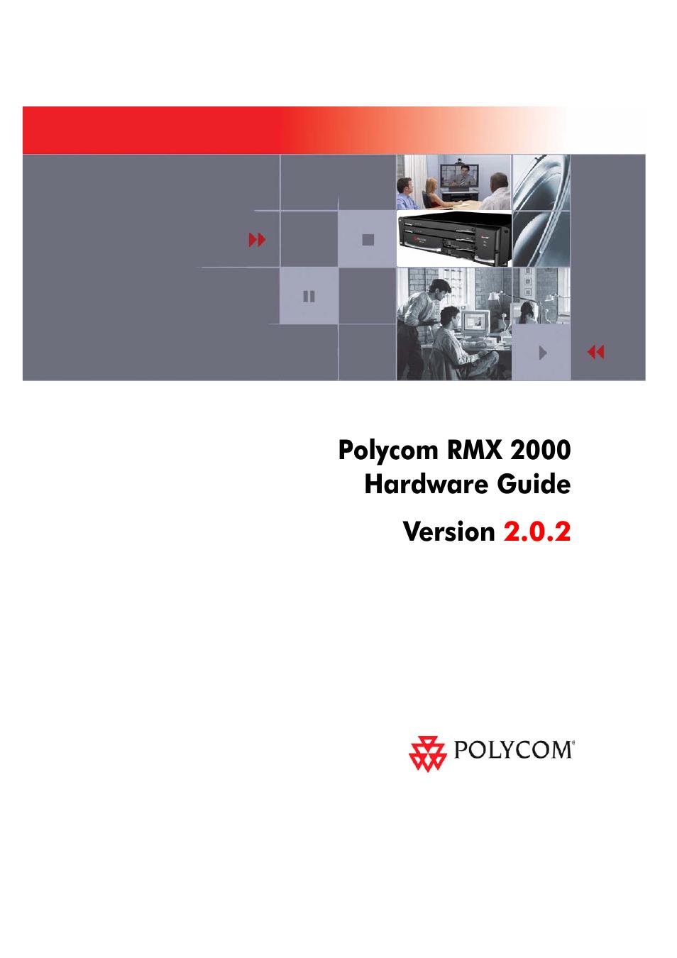 polycom rmx 2000 user manual 32 pages rh manualsdir com Polycom RMX 2000 Polycom RMX 2000