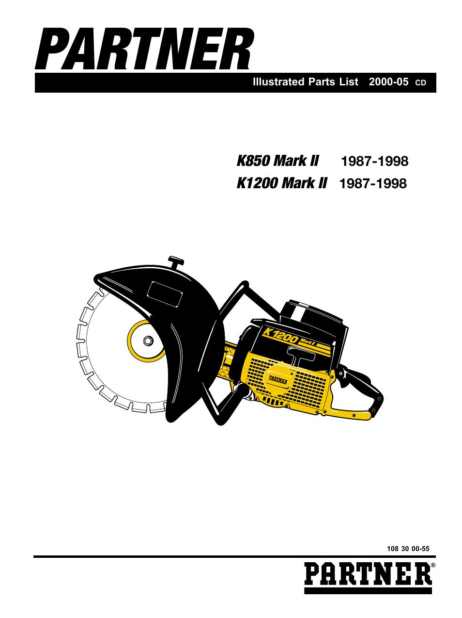partner tech k1200 user manual