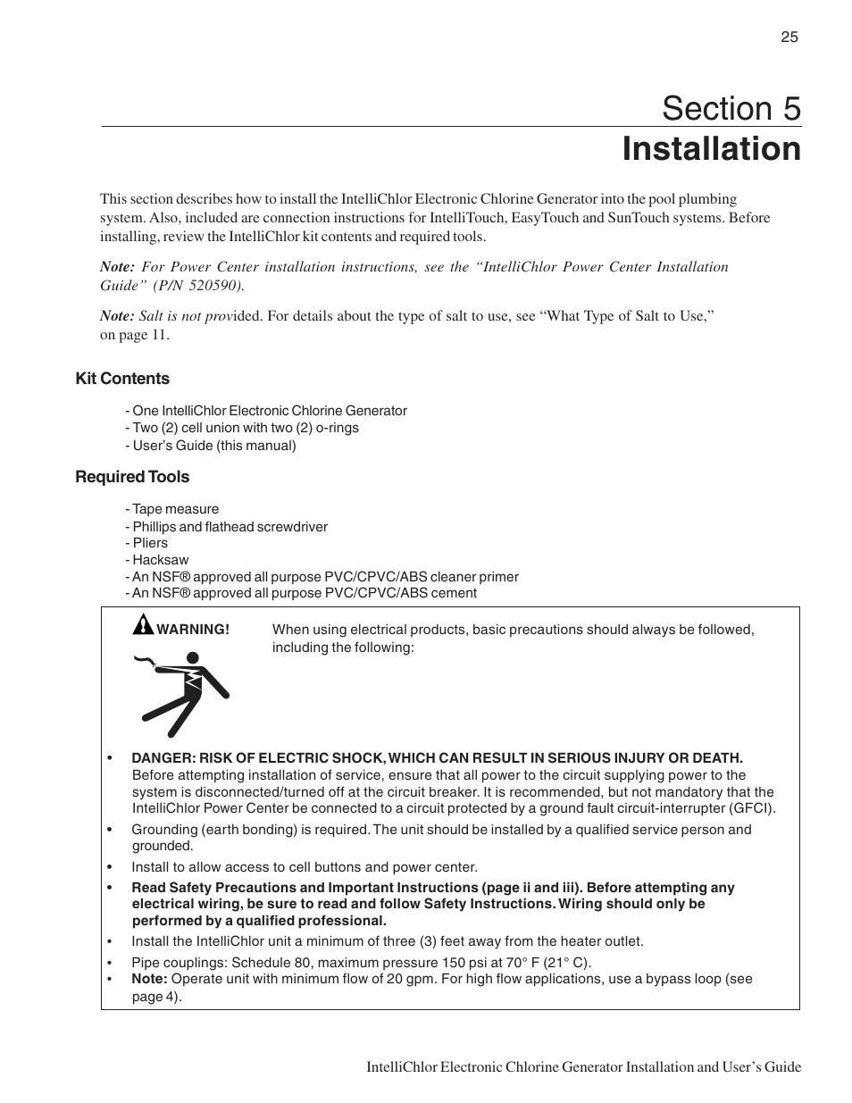 Pentair Ic20 User Manual Page 33 48 Also For Ic40