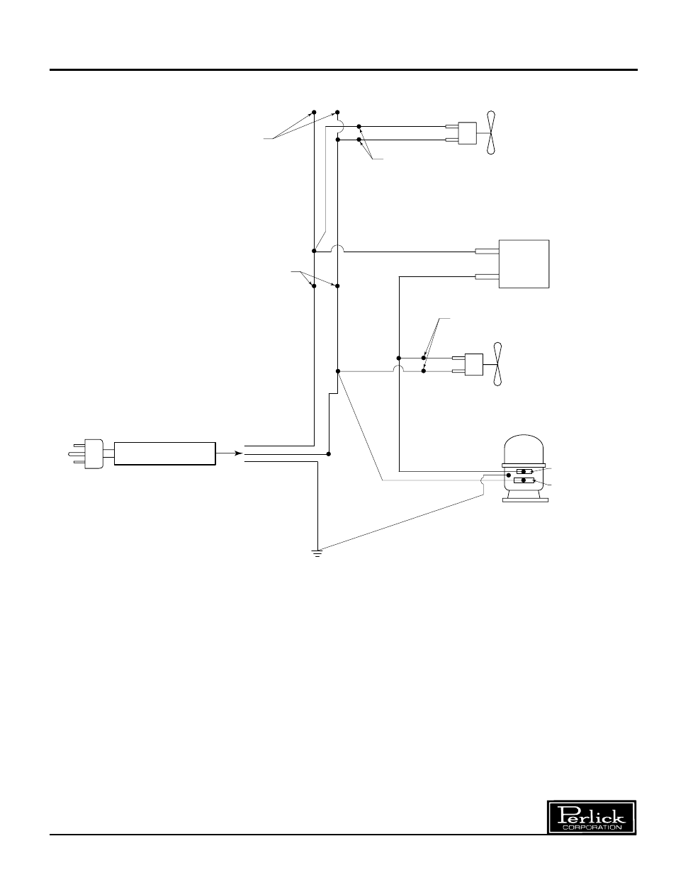 wiring diagram single door refrigerator perlick r24n user manual rh manualsdir com 3-Way Switch Wiring Diagram Basic Electrical Wiring Diagrams