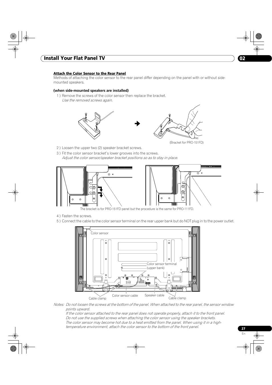 Pioneer elite tv manual #15772.