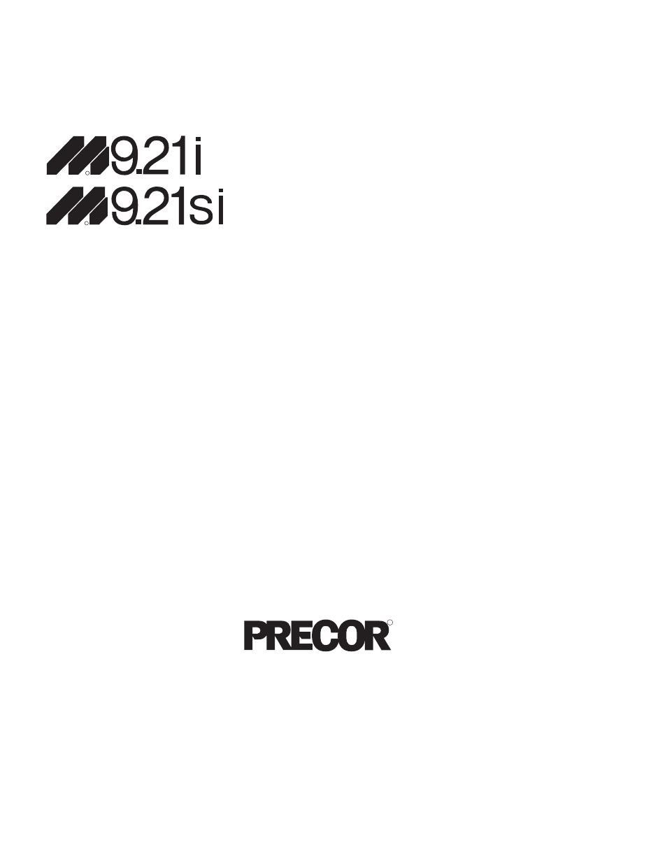 Precor Low Impact S 921i User Manual 36 Pages Treadmill Wiring Diagram