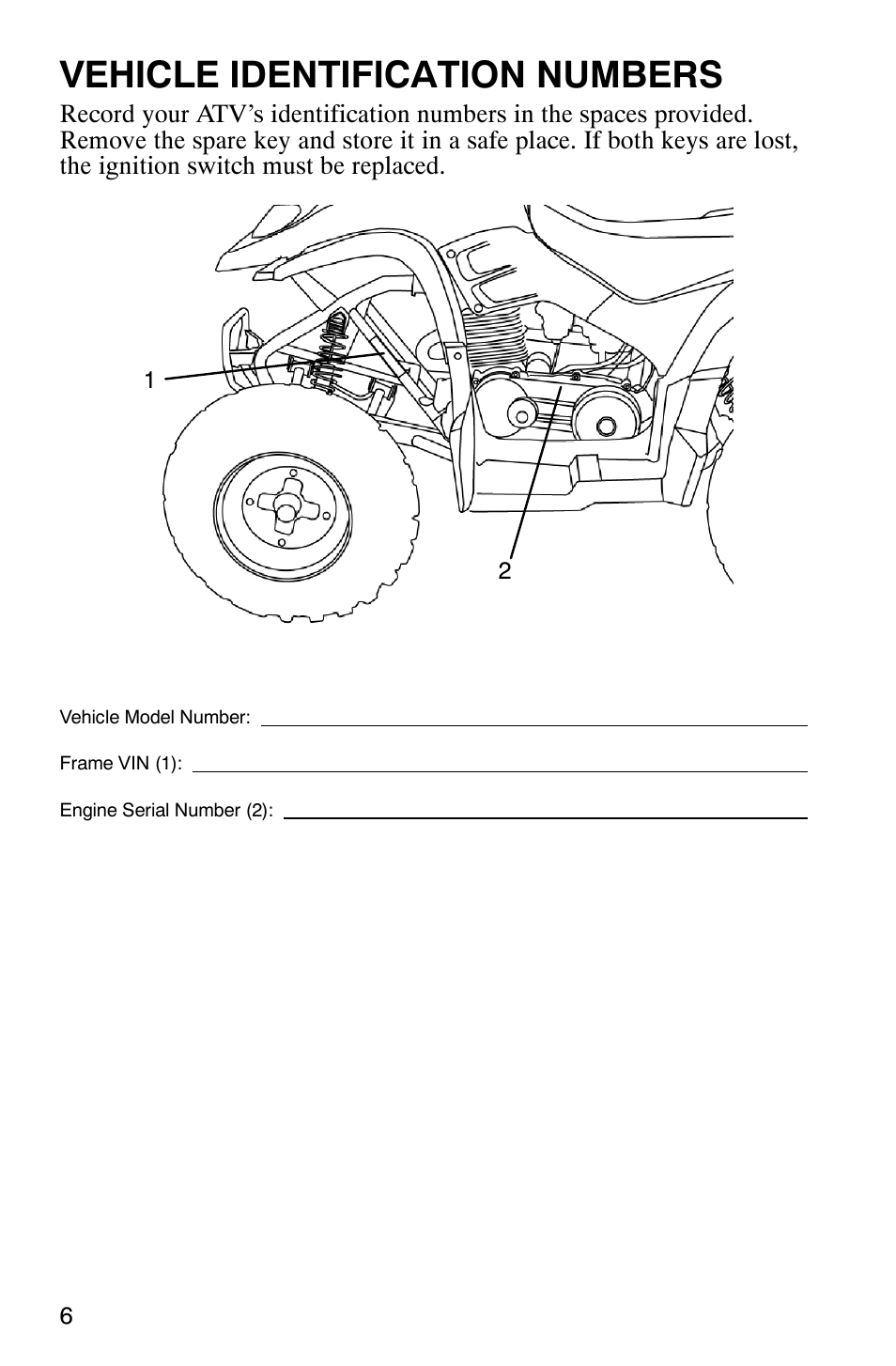Polaris Phoenix Engine Diagram Trusted Wiring Diagrams Vehicle Identification Numbers 200 User Manual Predator 500 Parts