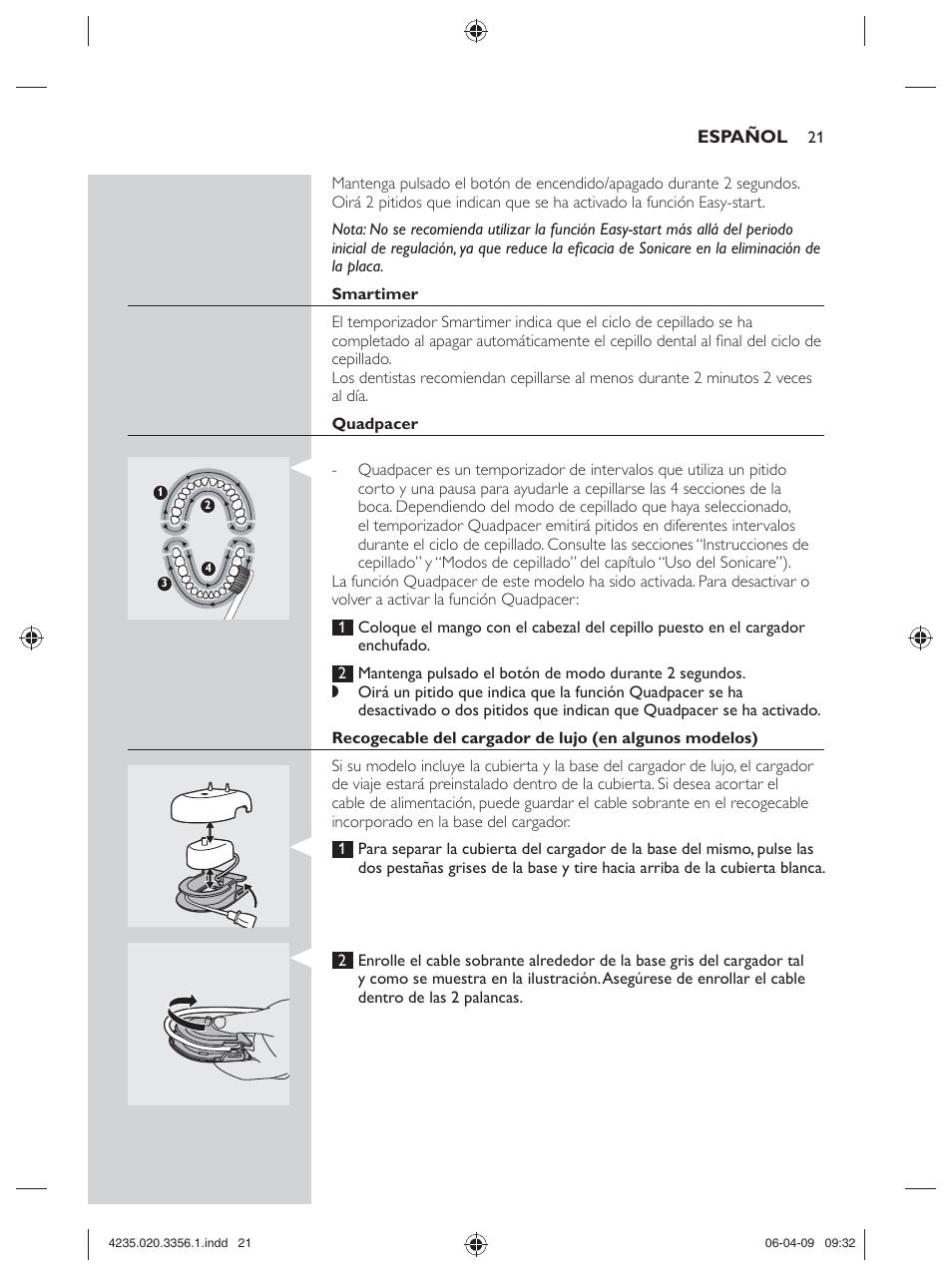 philips sonicare hx6972 10 user manual page 21 44 original rh manualsdir com Amazon Sonicare Toothbrush Sonicare HX6950 Repair