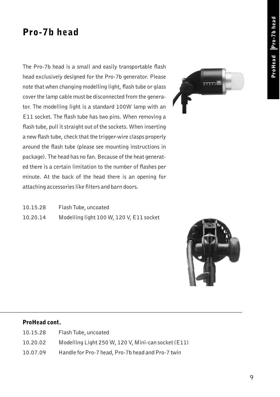 Profoto Pro 7 Twin Tube Flash Head